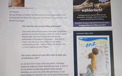 Mühlacker Tagblatt 13.04.2019 Eric