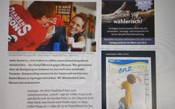Mühlacker Tagblatt13.04.2019